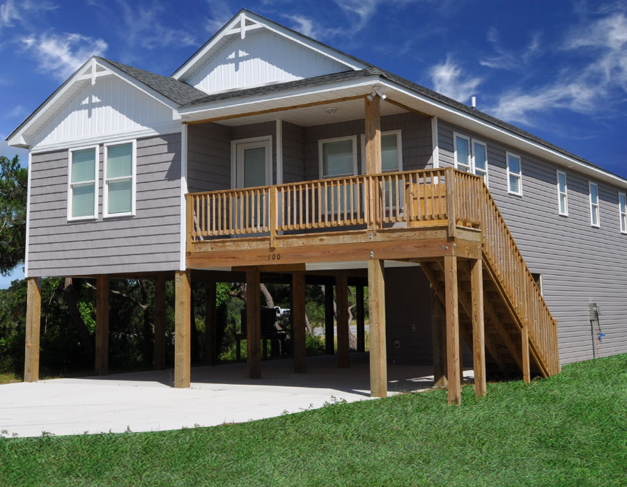 Outer banks house plans home design and style for Building an affordable house